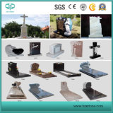 Polished/Flamed/Honed/Bush-Hammered/Swan-Cut/Natural/Pineapple Headstone/Granite for Gravestone/Tombstone/Tile/Countertop/Flooring Tile