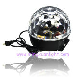 LED Crystal Magic Ball Mini Disco Home Party Light