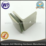 90 Degree Beveled Wall Mount Glass Clamp