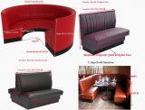 Fashion and Shining Restaurant Sofa Restaurant Booths Detailed Dimensions