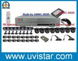 16CH CCTV System of Day & Night IR Security Cameras (DH1316KPB)