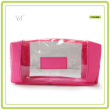 2016 Wholesale Promotional Fashion Best Selling PVC Clear Cosmetic Bag