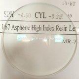 1.67 Asp (super hydrophobic) Lens