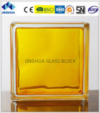 Jinghua High Quality in-Colored Yellow Glass Brick/Block
