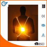 Reflective High Visibility LED Vest for Jogging