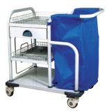 Medical Laundry Trolley Hospital Attending Cart (N-17)