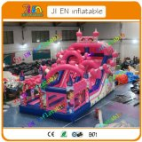 8*4*3m Giant Inflatable Slide, Newest Design Inflatable Bouncer with Slide, Commercial Inflatable Slide for Sale