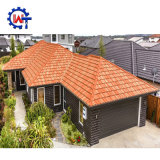 50 Long Life Spanish Decorative Galvanized Steel Stone Roof Tiles