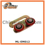 Customized Punching Pulley with Double Roller (ML-EM012)