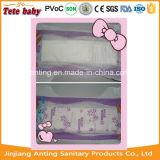 Dark Purple Colour PE Backsheet Disposable Baby Diaper