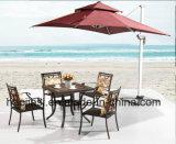 Outdoor /Rattan / Garden / Patio / Hotel Furniture Cast Aluminum Chair & Table Set (HS 1186C &HS 7132DT)
