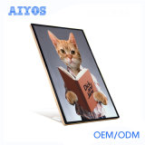 Cheap Price WiFi Bluetooth Vertical Advertising Tablet for Indoor Use