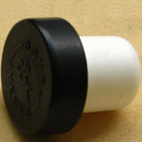 Coated Color Aluminum Top Synthetical Wine Cork