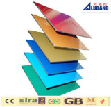 Building Material for Decoration Using Gioss Color Aluminum Composite Panel