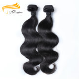 Alimina Famous Brand Virgin Indian Hair Extension Weft Wholesale