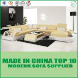 Nordic Design Modern Leather Wooden Sofa