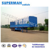3 Axle Store House Cargo Side Wall Stake Semi-Trailer for Sale