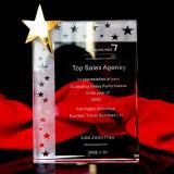 Wholesale K9 Crystal Glass Star Trophy