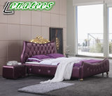 A02 Genuine Leather Luxury Bed Sets