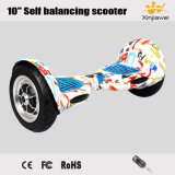 Big Inflatable Wheels Scrawl 10inch Self Balancing Electric Scooter