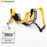 Customized Hot Sale Polyester Tube Lanyard