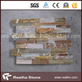 Yellow / Mixed Color Slate Tile for Wall and Flooring Decoration