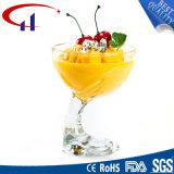 New Design Cheap Clear Glass Icecream Cup (CHG8130)