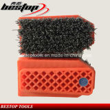 Fickert Type Strong Steel Wire Brushes for Polishing Granite/Marble