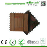 Interlocking Wood Plastic Composite WPC DIY Decking Tiles