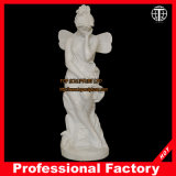 Hand Carved Life Size Marble Stone Carving for Garden