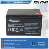 12V10ah Sealed Lead Acid Battery for UPS, Alarm System