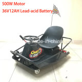 Adult 36V Battery Electric Tricycle Pedal Crazy Kart XL