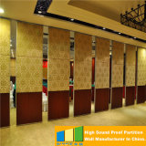 China operable restaurant sliding partition movable walls made by folding interior doors - Readymade partition walls ...