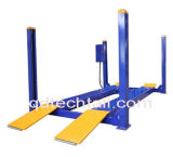 Four Post Hydraulic Car Lift with Alignment Ce