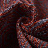 Geometic Black Most Popular Sofa Fabric (fth31935)