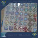 Security Silver Adhesive Holograms Printing