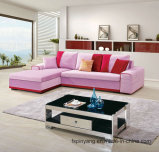 Mordern Design Cotton Flannel Fabric Sofa, Chaise Loungesofa, Sofa Bed 2015-2