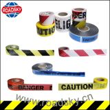 High Visible Black Yellow Custom Printed PE Warning Tape Price