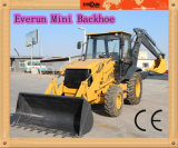 Small Backhoe Wheel Excavator with CE for Sale