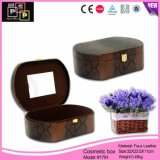 China Supplier 2016 New Design High End Leather Beauty Cosmetic Case (1791)
