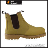 Nubuck Leather Working Boot with Rubber Outsole (SN1601)