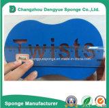 Printed Customized Logo Magic Twist Hair Sponge Comb