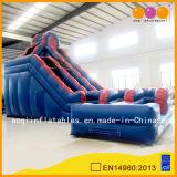 Big Turning Lane Inflatabble Water Pool Slide (AQ1090)