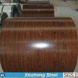 Prepainted Galvanized PPGI/PPGI Steel Coil with Wood Color