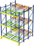 Storage Push Back Pallet Rack for Warehouse