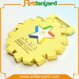 Customized Full 3D Metal Medal Plating Gold