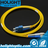 Patchcord Sc to FC Duplex Singlemode 3.0mm Yellow