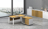 White Customized Metal Steel Office Staff Table Frame with Ht61-1