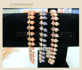 Wholesale Fancy Rhinestone Cup Chain Trimming with Pearls
