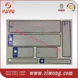 India Plain License Plates, India Reflective Number Plates